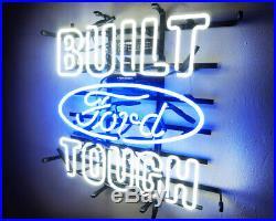 16x15BUILT TOUGH Ford Vintage Boutique Party Wall Lamp Pub Neon Light Sign