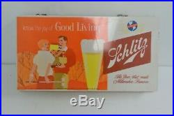 1960 Vintage Collectible Schlitz Beer Neon Light Bar Sign