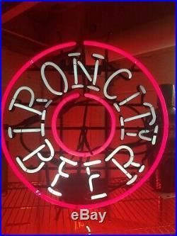 60's Vintage Iron City Beer Neon Sign