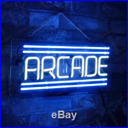 ARCADE Porcelain Decor Beer Neon Sign Store Boutique Wall Vintage Gift Custom