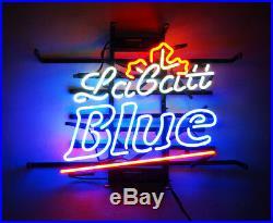 BLUE Vintage Neon Sign Beer Artwork Boutique Decor Porcelain Custom Pub Store