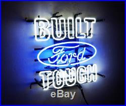 BUILT TOUCH Ford Boutique Vintage Neon Sign Porcelain Decor Gift Beer Custom