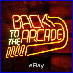 Back to the Arcade Decor Store Boutique Beer Neon Sign Gift Vintage Artwork