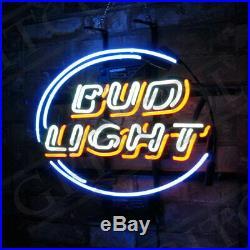 Bud Light Beer Neon Sign Custom Vintage Gift Porcelain Artwork Store Pub Decor