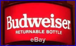 Budweiser Bottle Bud Light Busch Beer Bar Miller Vintage Neon Light Sign 13x5z