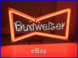 Budweiser Neon Sign Vintage