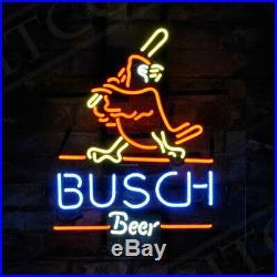 Busch Sport Custom Decor Neon Sign Store Beer Artwork Gift Pub Vintage Boutique