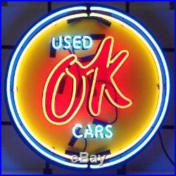 Cars and Motorcycles Chevy Vintage Ok Used Cars Neon Sign Neonetics (NEW)