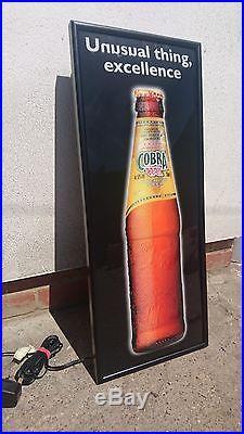 Cobra Beer neon sign rare vintage retro sign BNIB
