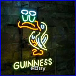 GUINNESS Toucan Custom Decor Pub Boutique Gift Vintage Neon Sign Porcelain Store