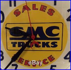 Gmc Trucks Vintage Neon Sign/clock