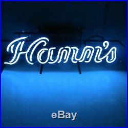Hamm's Beer Advertising Blue Neon Light Bar Back Pub Sign Vintage 1970's