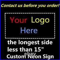 Handmade Open Vintage Custom Beer Wall Porcelain Neon Sign Decor