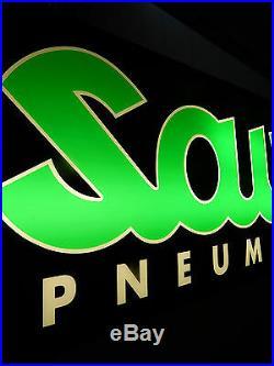 Insegna Luminosa Neon Sava Pneumatici Vintage Sign