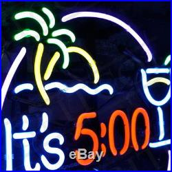 It's 500 Somewhere Neon Sign Night Club Bar Pub Beer VIntage Patio Artwork