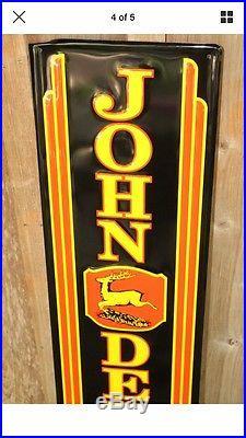 JOHN DEERE Tractor Metal Farm Equipment Vintage Style Mower Implements Tractors