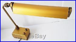 Lamp Workshop Industrial Signed Mazda France 1940-1950 Vintage Years 40/50