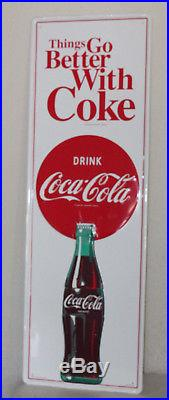 Large 54'' Coca Cola Vintage Style Embossed Signs Man Cave Bottle USA
