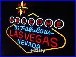 Lasvegas Beer Neon Sign Gift Open Handmad Store Light Room Game Vintage Artwork