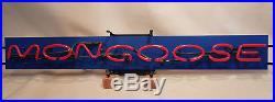 Mongoose Collectible Vintage Classic Dealer's Neon Sign - New In Box