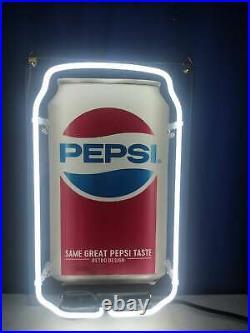 Neon Light Pepsi Cola Coke Can Beer Bar Club Iphone Case Vintage Bottle Sign