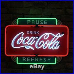 Neon Light Sign Coa Cola Vintage Beer Drinking Bar Wall Decor 19 Glass Pub