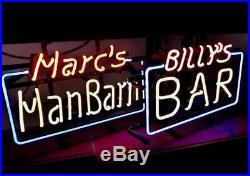 Neon lamp SIGN CUSTOM NAME Pub Bar Beer Night Club Artwork Vintage