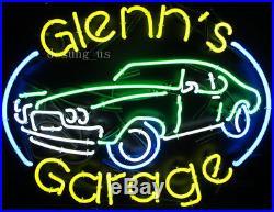 New Custom Garage Man Cave Vintage Car Lamp Light Artwork Neon Sign 24x20