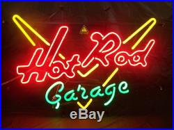 New Vintage Car Hot Rod Garage Bar Lamp Pub Neon Light Sign 19''X15