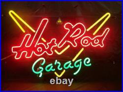 New Vintage Car Hot Rod Garage Game Room Neon Sign 24x20