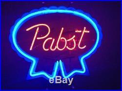 Pabst Blue Ribbon Neon Sign Original Light Vintage Beer cave bar by Everbrite