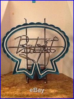 Pabst Blue Ribbon PBR Vintage Lighted Neon Beer Sign