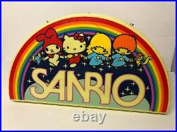 Plv Enseigne Lumineuse Shop Neon Sign Vintage Sanrio Hello Kitty Rare 80-90