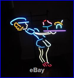 Rare Vintage 50's Retro Waitress Neon Sign -drive In Diner Advertising Sign