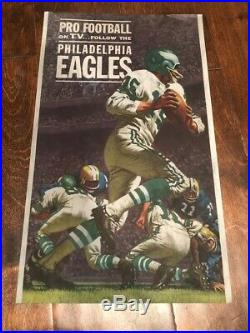 RARE Vintage Ballantine Philadelphia Eagles Advertising Beer Light Sign