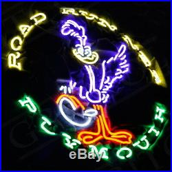 ROAD RUNNER PLYMOUTH Neon Sign Artwork Decor Beer Vintage Pub Custom Boutique