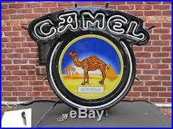 Rare Camel Cigarettes Tobacco Retro Vintage 90's Neon Light/Sign (1/2 working)