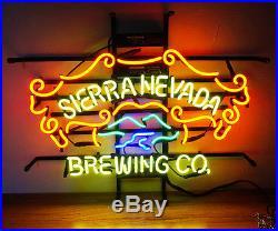 Sierra Nevada Brewing Co Beer Bar Decor Vintage NEON Light Sign 18''x13'' ME508