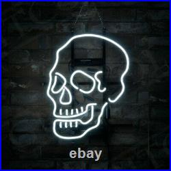 Skull Shape Modelo Neon Boutique Deco Pub Vintage Tig ol Bitties Neon Sign