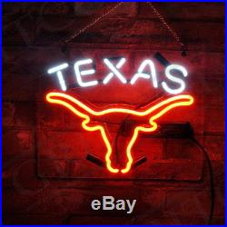 TEXAS Neon Sign Gift Custom Boutique Wall Decor Porcelain Vintage Store Beer