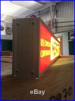 Vintage Mopar Lighted Neon Sign Hemi 440 Direct