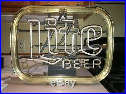 VINTAGE c1981 LITE BEER NEON SIGN THAT WORKS BY THE SCOTT AND FETZER CO