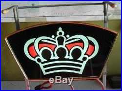 Vintage 1950's'The King Of Beers On Tap Neon Lighted Sign