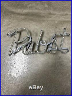 Vintage 1980s Pabst Neon Beer Sign Replacement Neon Tube Only Working Rare