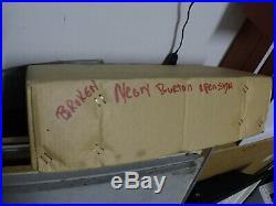 Vintage 1990's burton snowboard NEON us open OPEN DEALER SIGN VERY RARE