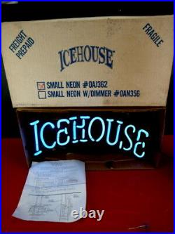 Vintage 1999 ICEHOUSE NEON Sign 18 x 8 (20 yrs old STILL IN FACTORY BOX)