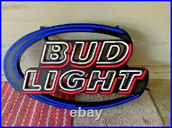 Vintage Bud light & Budweiser Select Neon Signs Lot