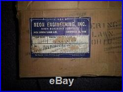 Vintage Car Dealer Neon Sign Transformer American Motors New Old Stock