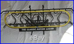 Vintage Castlemaine XXXX The Classic Aussie Lager Neon Bar Sign Large 32