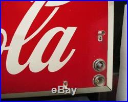Vintage Coca-Cola 1968 Electric Neon Sign AM Sign Company